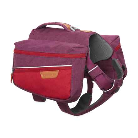 Ruffwear Commuter Dog Pack in Larkspur Purple - Closeouts