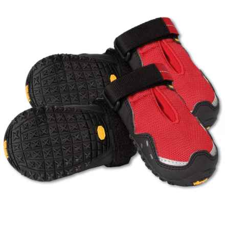Ruffwear Grip Trex Dog Boots in Red Currant - Closeouts