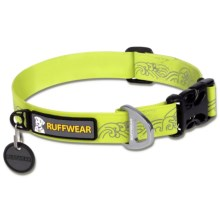 Ruffwear Headwater Dog Collar in Fern Green - Closeouts