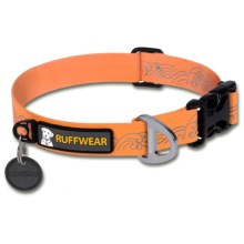 Ruffwear Headwater Dog Collar in Orange Sunset - Closeouts