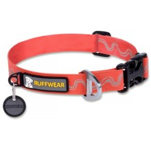 Ruffwear Headwater Dog Collar in Red Currant - Closeouts