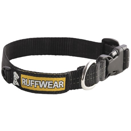 Ruffwear Hoopie Dog Collar in Black