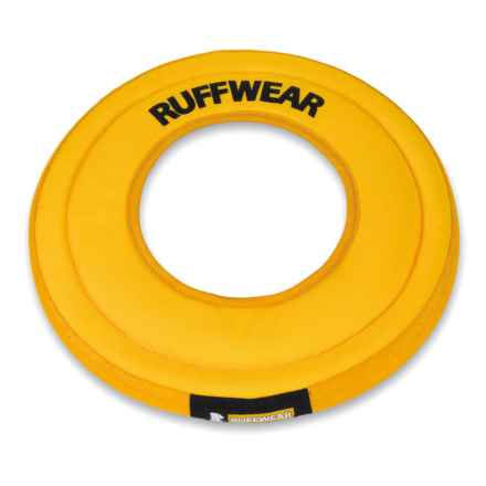 Ruffwear Hydro Plane Floating Disk Dog Toy in Dandelion Yellow - Closeouts