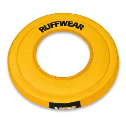 Ruffwear Hydro Plane Floating Disk Dog Toy in Dandelion Yellow - Closeouts