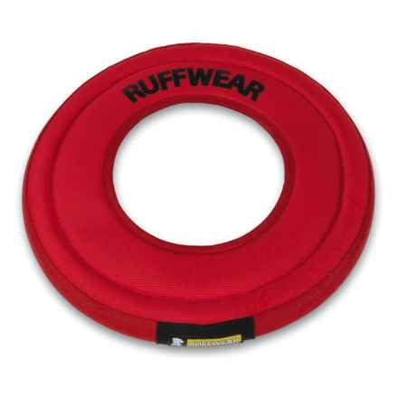 Ruffwear Hydro Plane Floating Disk Dog Toy in Red Currant - Closeouts