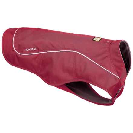 Ruffwear K9 Overcoat Dog Jacket in Cinder Cone Red - Closeouts
