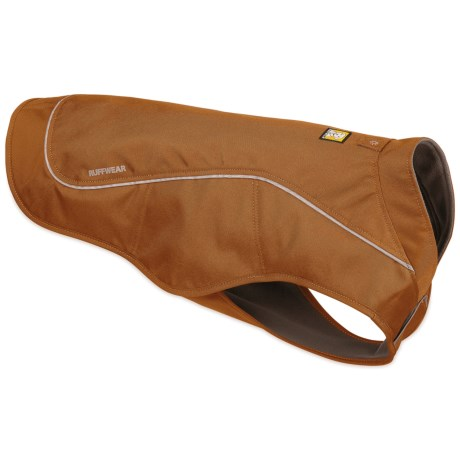 Ruffwear K9 Overcoat Dog Jacket in Trailhead Brown