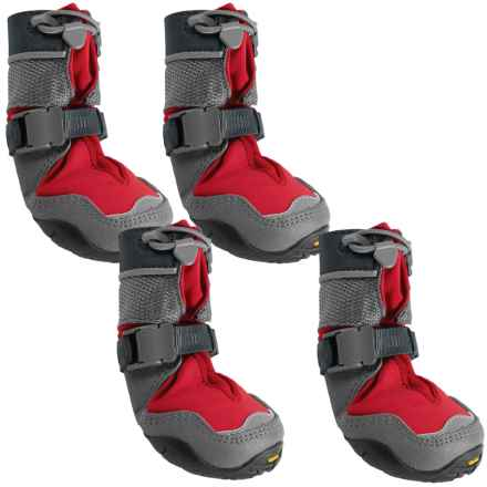 Ruffwear Polar Trex Dog Boots - Vibram® Outsole in Red Rock - Closeouts