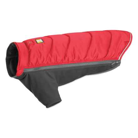Ruffwear Powder Hound Dog Jacket - Insulated in Red Currant - Closeouts