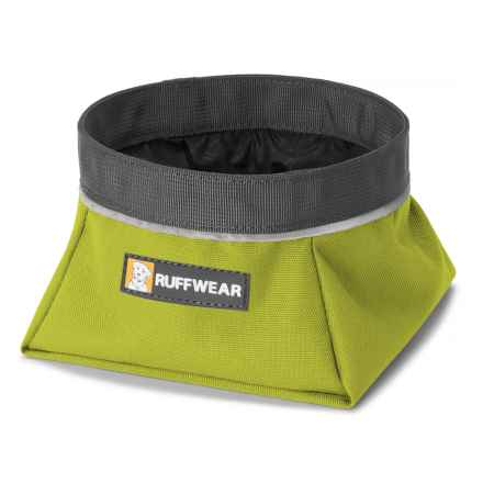 Ruffwear Quencher Travel Dog Bowl - 1.1 qt. in Forest Green - Closeouts