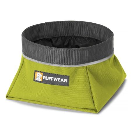 Ruffwear Quencher Travel Dog Bowl - 1.1 qt. in Forest Green