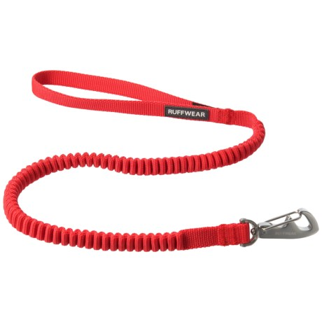 Ruffwear Ridgeline Dog Leash in Red Currant