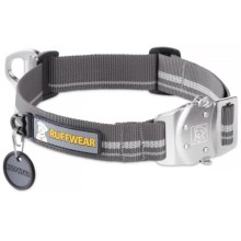 Ruffwear Top Rope Dog Collar in Granite Gray - Closeouts