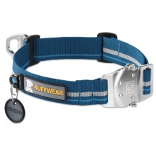 Ruffwear Top Rope Dog Collar in Metolius Blue - Closeouts