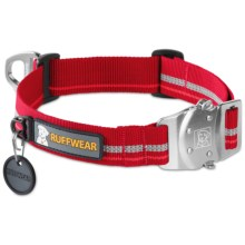 Ruffwear Top Rope Dog Collar in Red Rock - Closeouts