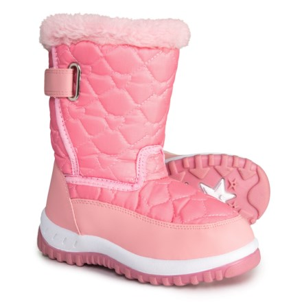 2117117f5e3f Rugged Bear Lined Snow Boots (For Girls) in Pink