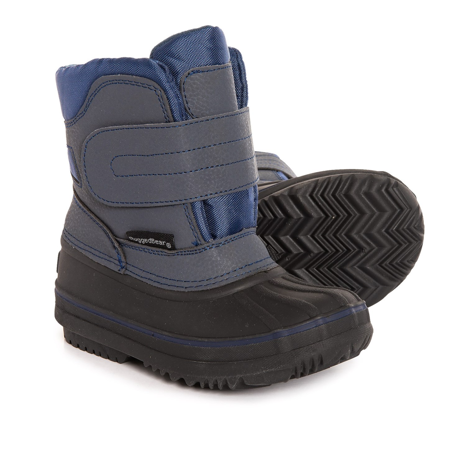 Rugged Bear Single Strap Snow Boots For Boys