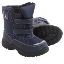 Rugged Bear Snow Boots - Insulated (For Little and Big Kids) in Navy - Closeouts