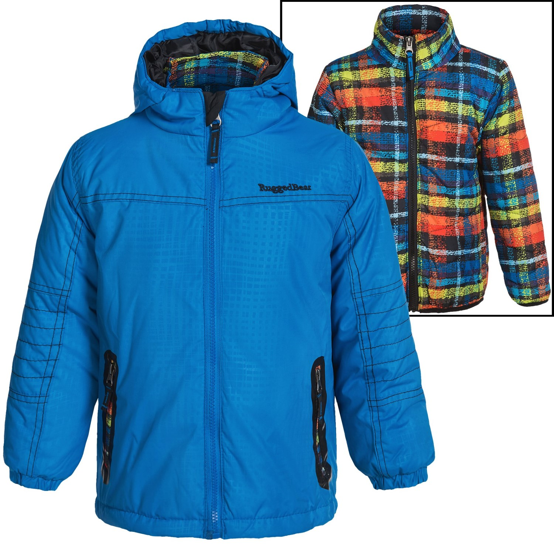 rugged bear systems winter jacket for little boys save 60. Black Bedroom Furniture Sets. Home Design Ideas