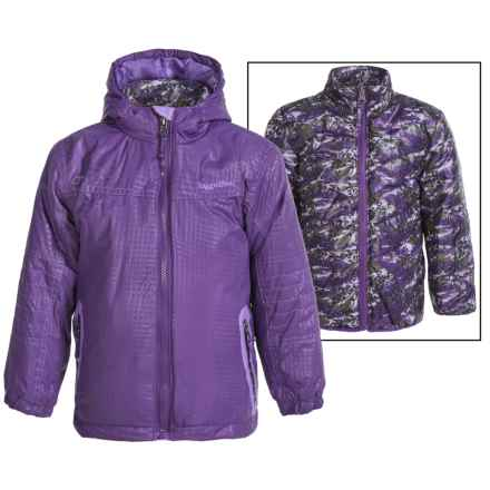 Rugged Bear Systems Winter Jacket - Insulated, 3-in-1 (For Little Girls) in Purple - Closeouts