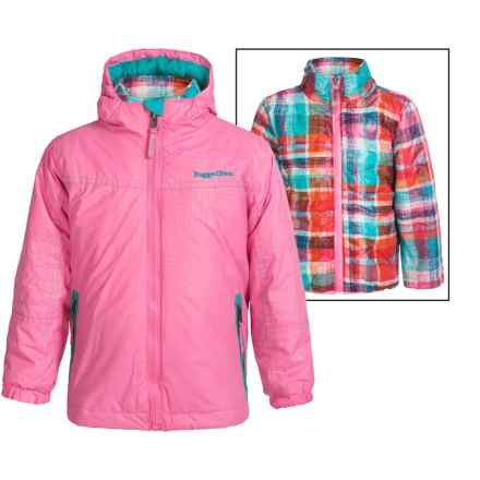 Rugged Bear Systems Winter Jacket - Insulated, 3-in-1 (For Little Girls) in Sugar Plum - Closeouts