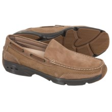 Rugged Shark Aloha Johnny Shoes - Slip-Ons (For Men) in Oak/Dark Brown - Closeouts