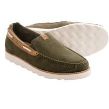 Rugged Shark Beacon Shoes - Slip-Ons (For Men) in Fatigue - Closeouts