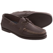 Rugged Shark Classic Boat Shoes (For Men) in Brown - Closeouts