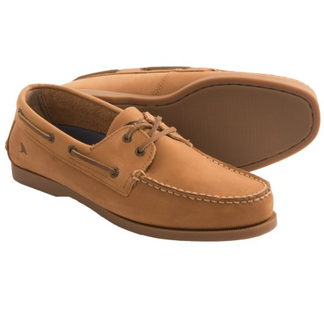Rugged Shark Classic Boat Shoes (For Men)