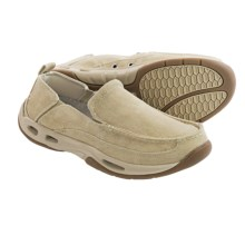 Rugged Shark Squall Boat Shoes - Slip-Ons (For Men) in Tan - Closeouts