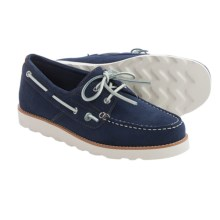 Rugged Shark Wheelhouse Boat Shoes (For Men) in Navy - Closeouts
