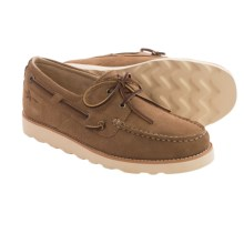 Rugged Shark Wheelhouse Boat Shoes (For Men) in Tan - Closeouts