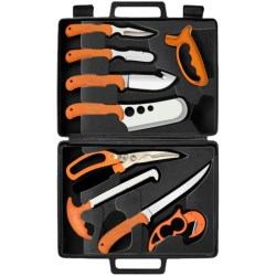 Ruko Deluxe Fish and Game Processing Kit - 11-Piece in See Photo