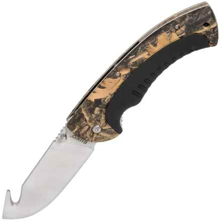 Ruko WX-3D Camo Folding Knife - Gut Hook, Liner Lock in Wx-3D - Closeouts