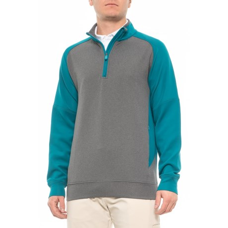 31bfffb342dd Rule 18 by Bobby Jones Chapman Tech Shirt - Zip Neck, Long Sleeve (For