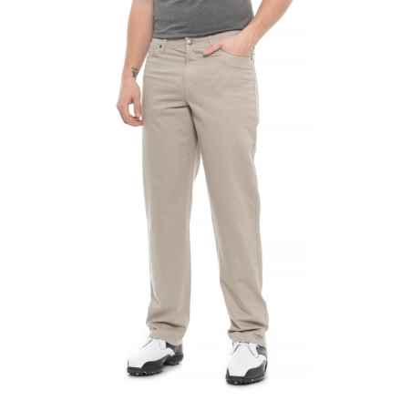 Rule 18 by Bobby Jones High-Performance Cotton Stretch Golf Pants (For Men) in Stone - Closeouts