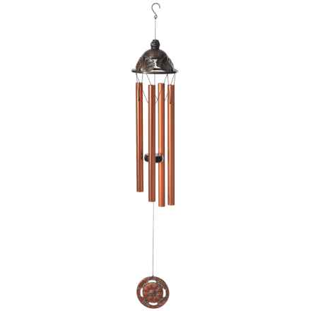 """Russco Victorian Crown Wind Chimes - 27"""" in Bronze - Closeouts"""