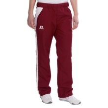 Russell Athletic Active Pants - Drawstring Waist (For Women) in Cardinal/White - Closeouts