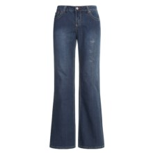 Ryan Michael Elly Jeans - Flared Leg (For Women) in Indigo - Closeouts