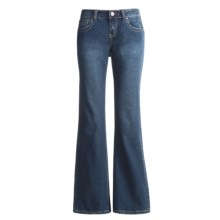 Ryan Michael Grace Classic Jeans - Flared Leg (For Women) in Indigo - Closeouts