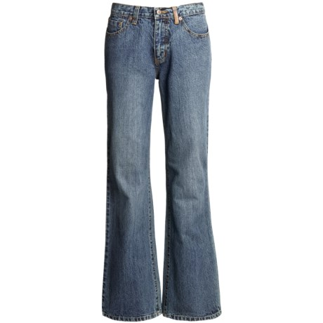 Ryan Michael Ring Denim Jeans - 13 oz. Cotton (For Women) in Light Denim
