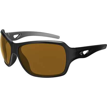 RYDERS EYEWEAR Carlita Sunglasses - Photochromic Lenses (For Women) in Black/Silver/Eggshell/Brown - Closeouts