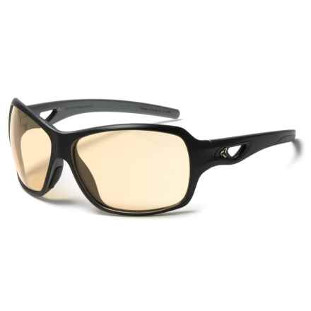 RYDERS EYEWEAR Carlita Sunglasses - Photochromic Lenses (For Women) in Black/Silver/Eggshell/ Brown - Closeouts
