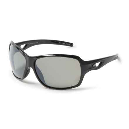 RYDERS EYEWEAR Carlita Sunglasses - Polarized (For Women) in Black/Grey/Silver - Closeouts