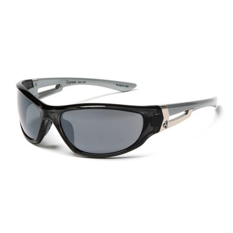 RYDERS EYEWEAR Cypress Sunglasses in Smoke/Silver/Grey/Silver Flash