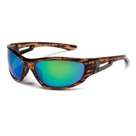 b9b85c2edf7 RYDERS EYEWEAR Cypress Sunglasses in Tortoise Grey Green Mirror - Closeouts