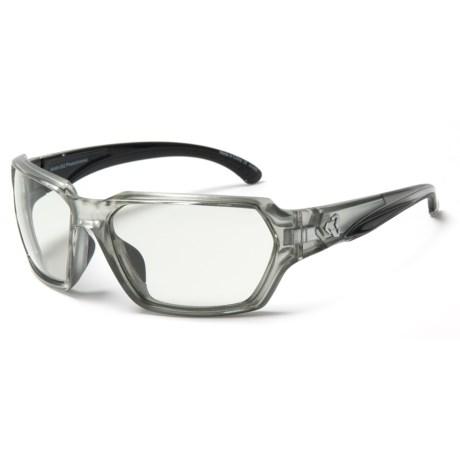 RYDERS EYEWEAR Face Sunglasses - Photochromic (For Women) in Silver/Light Grey Lens