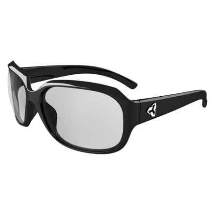 Ryders Eyewear Kira Sunglasses - Polarized, Photochromic Lenses (For Women) in Black/Light Grey - Overstock