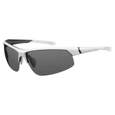 RYDERS EYEWEAR Saber Sunglasses - Photochromic Lenses in White/Black/Grey - Closeouts
