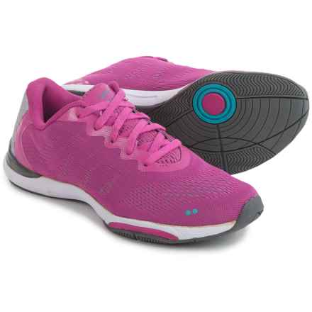 ryka Achieve Training Shoes (For Women) in Pink/Blue/Silver - Closeouts